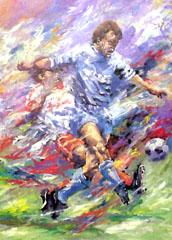 <I>' Voetbal II '  <BR>  Angelique van den Born</I>