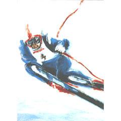 <I>' Skiën ' - Anneke Dekkers</I>