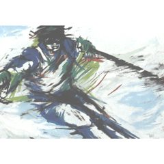 <I>' Skiing '  -  Anke Peddemors</I>
