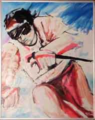 <I>' Skiën Wit  '  -  Anke Peddemors</I>