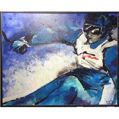 <I>' Skiën Blauw  '  -  Anke Peddemors</I>