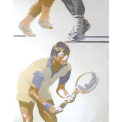 <I>' Tennis ' - Edouard Tremeau</I>