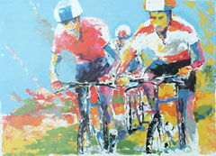 <I>' Mountain biking '  - Frank Gude</I>