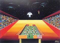 <I>' Tafelvoetbal ' <BR> Hugo Bertels</I>