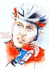 <I>' Robert Gesink '  <BR>Wielrenner van het jaar 2009<BR>Horst Brozy </I>