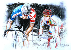 <I>' Gideon Massie, Teun Mulder  '  <BR> Sprint 6D Amsterdam 2010 <BR> Horst Brozy </I>