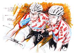 <I>' Jan-Erik Madsen / Michael Morkov  '  <BR>  6 Daagse Rotterdam 2011<BR>Horst Brozy </I>