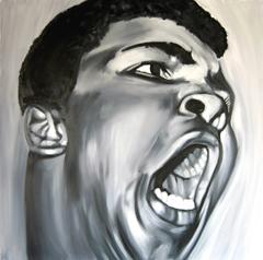 <I>' Muhammad Ali 2 ' <BR> Herman Morssink</I>