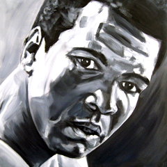 <I>' Muhammad Ali 3 ' <BR> Herman Morssink</I>