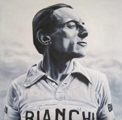 <I>' Fausto Coppi ' <BR> Herman Morssink</I>