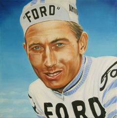 <I>' Jacques Anquetil ' <BR> Herman Morssink</I>