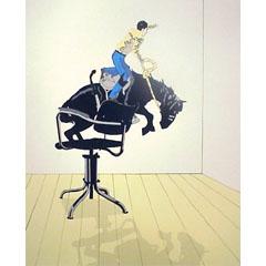 <I>' Rodeo ' - Hans Wap</I>