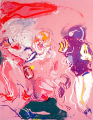 <I>' American Football  rose ' <BR> Jan van Diemen</I>