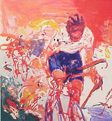 <I>' Wielrenner B ' - Jan van Diemen</I>