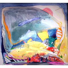 <I>' Formule I  blauw '  <BR> Jan van Diemen</I>
