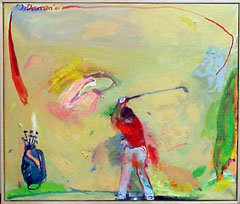 <I>' Camel Golf ' - Jan van Diemen</I>
