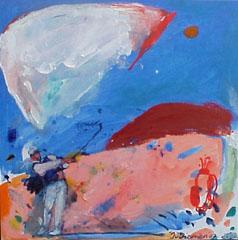 <I>' Golf Blauw 2007 ' <BR> Jan van Diemen</I>