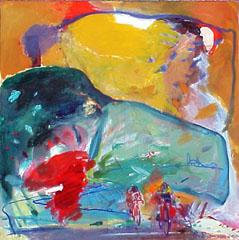 <I>' Wielren Finish 2000 '<BR> Jan van Diemen</I>