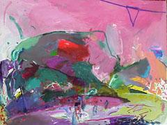 <I>' Wielrennen Roze Trio '<BR> Jan van Diemen</I>