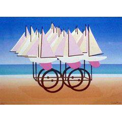 <I>' Sail biking ' - Jurjen Fontein</I>