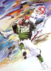 <I>' American Football ' - Jan Hofland</I>