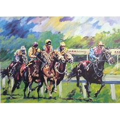 <I>' Horseraces  '  -  Jan Hofland</I>