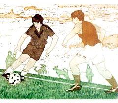 <I>' Voetbal '  - Joke Struik</I>