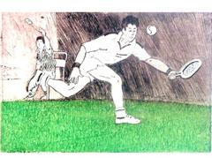 <I>' Tennis '  -  Joke Struik</I>