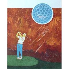 <I>' Doelgericht I - Golf '  <BR> Joke Struik</I>