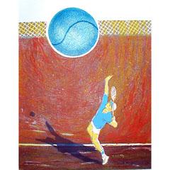 <I>' Doelgericht IV - Tennis '  <BR> Joke Struik</I>