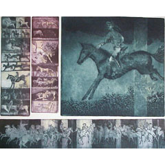 <I>' Nachtpaarden ' - Michael Jepkes</I>