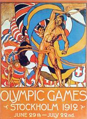 <I>' OS Stockholm 1912<BR>Reprint poster</I>