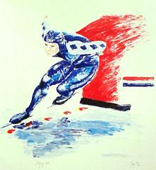 <I>Yvonne van Gennip <BR>' Galgary ' - Rob Aerdts</I>