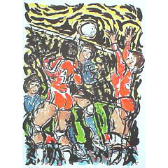 <I>' Ladies Volleyball '  -  Rob Aerdts</I>