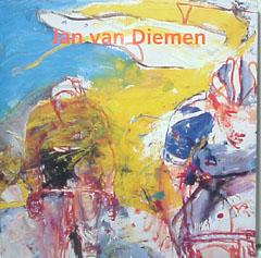 hardcover boek Jan van Diemen