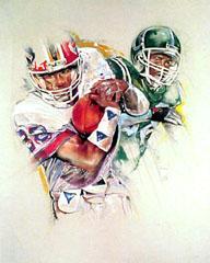 <I>' American Football '<BR> Twan van de Vorstenbosch</I>