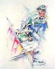 <I>' Sailing ' - Twan van de Vorstenbosch</I>