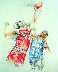<I>' Basketbal  2 ' <BR>Twan van de Vorstenbosch</I>