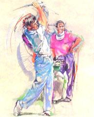 <I>'  Golf  ' <BR>Twan van de Vorstenbosch</I>