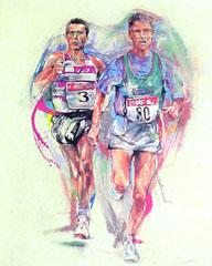 <I>' Marathon ' <BR>Twan van de Vorstenbosch</I>