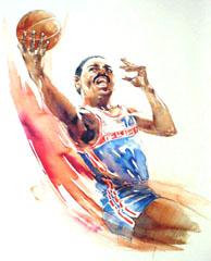 <I>' Basketbal ' - Wim Hoogstraten</I>