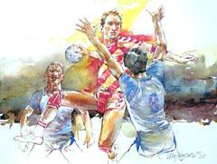 <I>' Handbal 2 ' - Wim Hoogstraten</I>