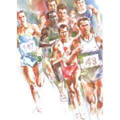 <I>' Marathon ' - Wim Hoogstraten</I>