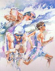 <I>' Triathlon ' - Wim Hoogstraten</I>